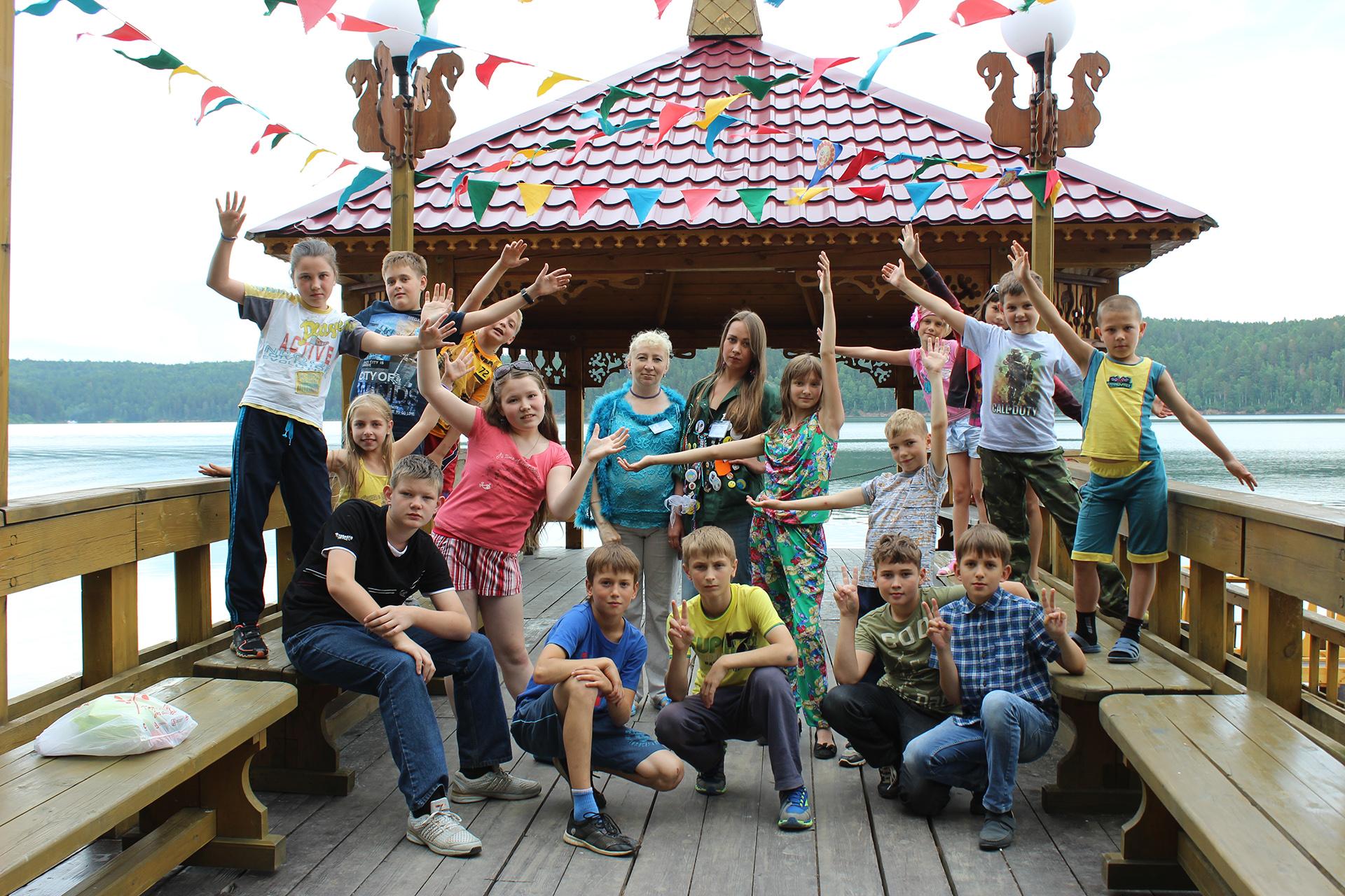 Лагерь для дитей по потери кормильца