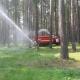 Практическая тренировка по пожарной безопасности в ДОЛ «Лазурный»